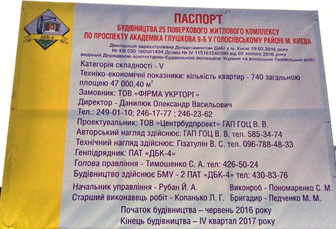 ЖК «Акцент» от ДБК-4 пасспорт