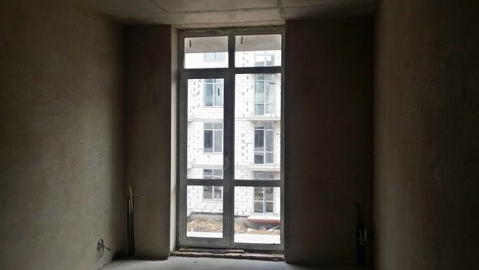 ЖК «Европейка» в Софиевской Борщаговке внутри черновая отделка
