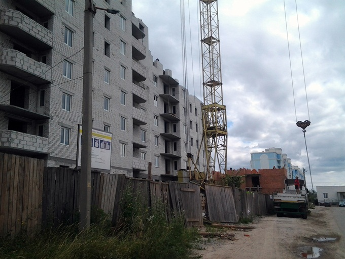 ЖК «Петропавловский Посад» в Петропавловской Борщаговке очереди комплекса