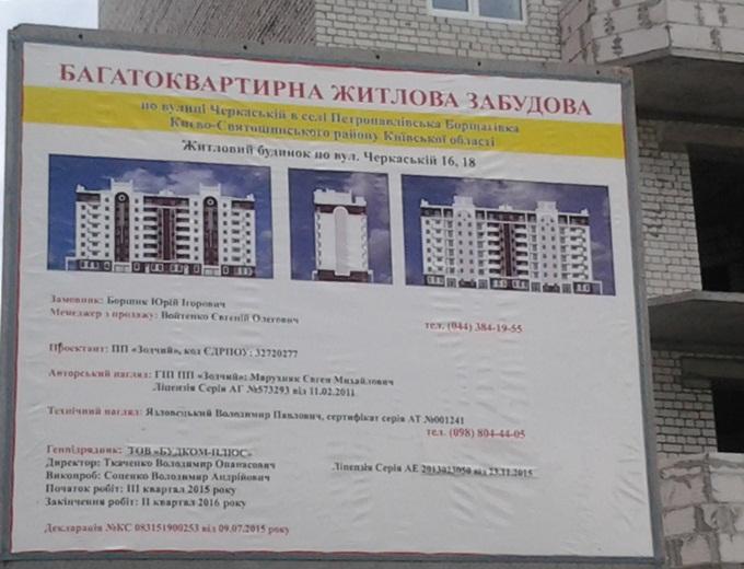 ЖК «Петропавловский Посад» в Петропавловской Борщаговке пасспорт