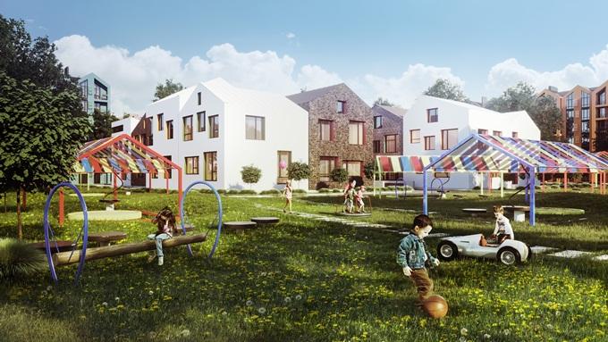 ЖК Скандия в Броварах детский сад