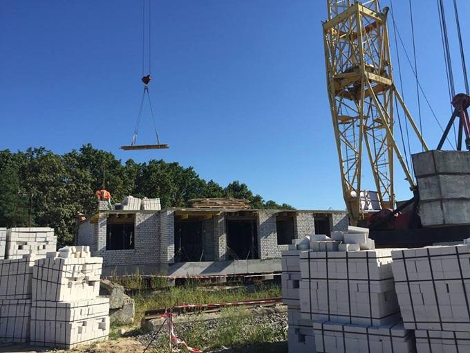 ЖК «Пражский Квартал-2» в Петропавловской Борщаговке ход строительства