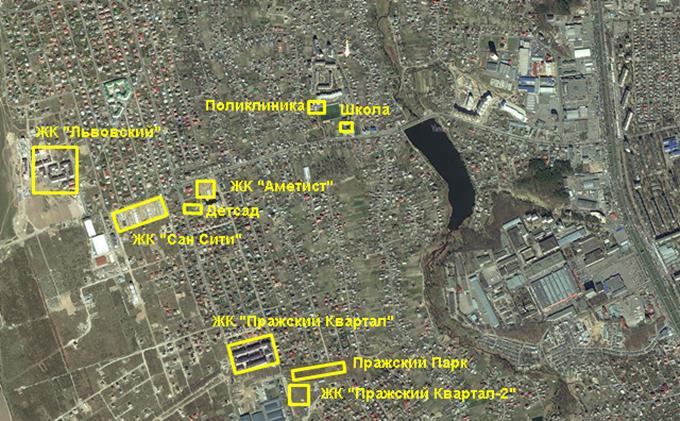 ЖК «Пражский Квартал-2» в Петропавловской Борщаговке инфраструктура