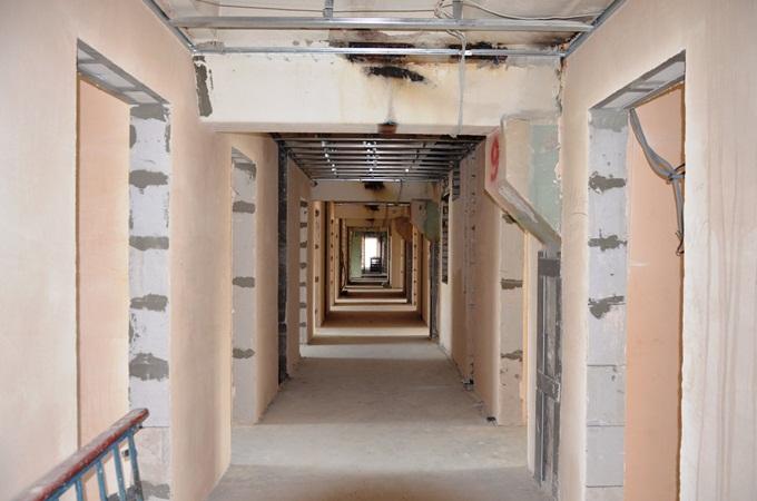ЖК Смарт Хаус на Отрадном коридор общий в доме