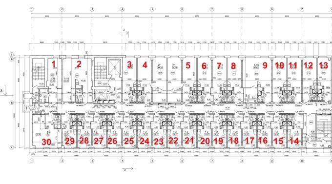 ЖК Смарт Хаус на Отрадном поэтажный план