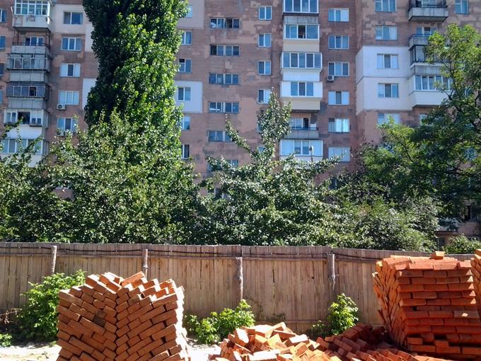 ЖК «Вышгород Сити Парк» дом напротив