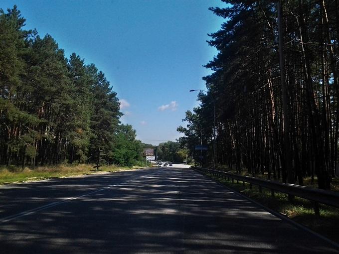 ЖК «Вышгород Сити Парк» дорога к городу