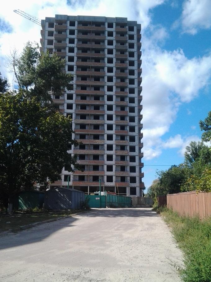 ЖК «Солнечный» в Борисполе первый дом