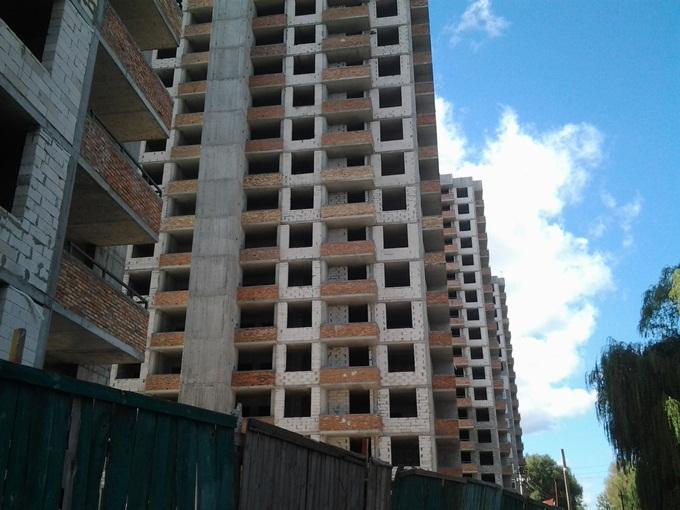 ЖК «Солнечный» в Борисполе ход строительтсва домов