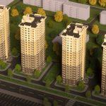 ЖК «Солнечный» в Борисполе визуализация
