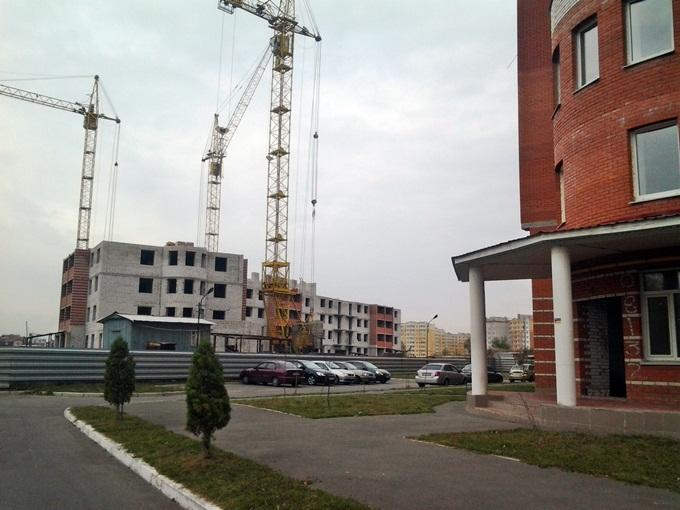 ЖК «Городок» от застройщика «Эркер» ход строительства третьего дома
