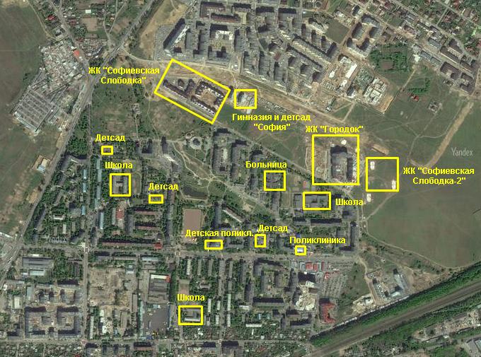 ЖК «Городок» от застройщика «Эркер» инфраструктура