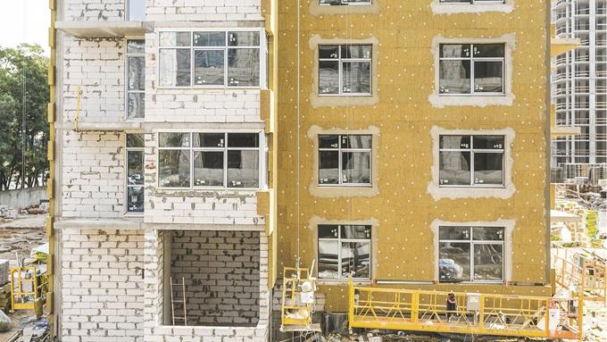 ЖК «Варшавский микрорайон» от Столица Групп утепление домов