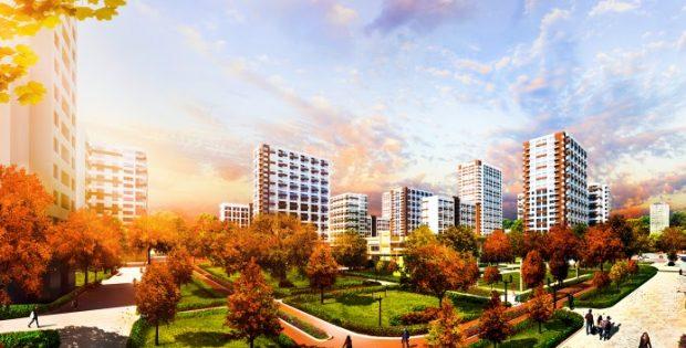 ЖК «Варшавский микрорайон» от Столица Групп визуализация