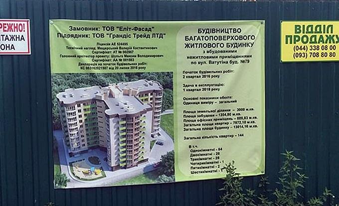ЖК «Зірковий» в Вышгороде пасспорт