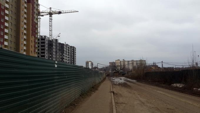 Год спустя: ЖК «Кристер Град» второй и третий дома еще строятся