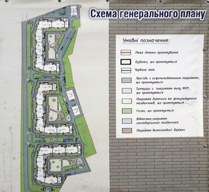 Год спустя: ЖК «Кристер Град» генеральный план комплекса