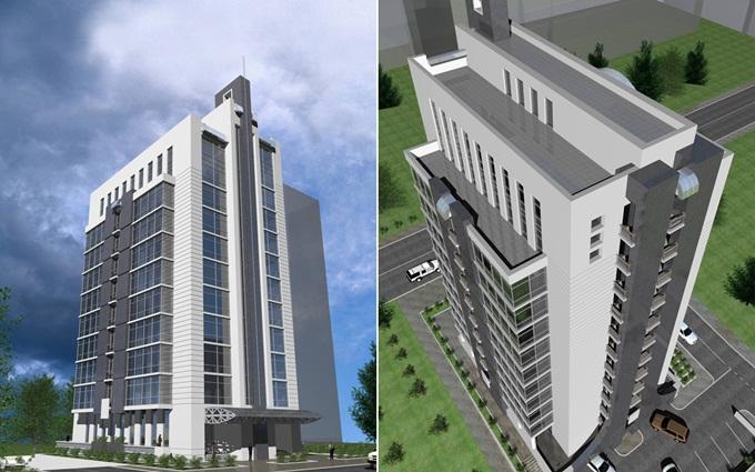 ЖК Каравай Тауер на Ушинского визуализация проекта