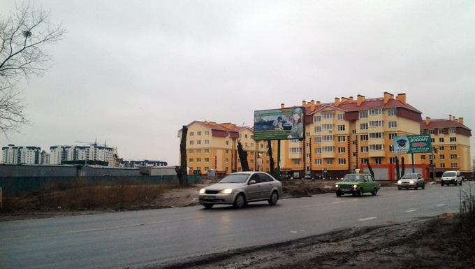 ЖК «Киевский Маеток» в Софиевской Борщаговке дорога