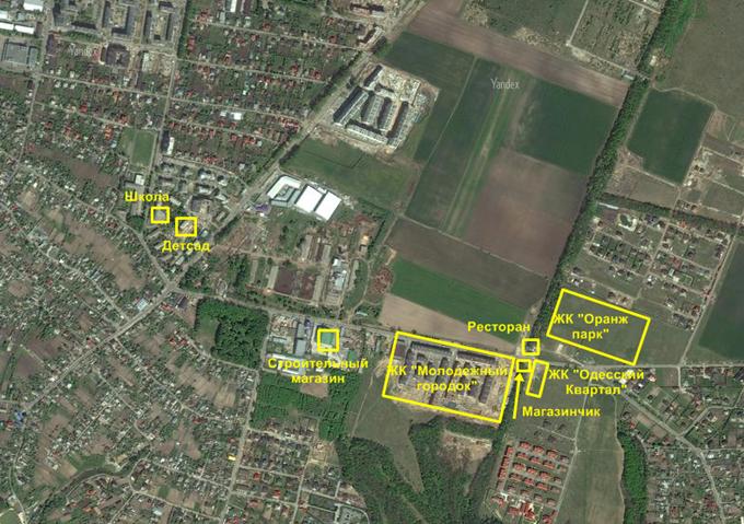 ЖК «Одесский Квартал» в Крюковщине инфраструктура