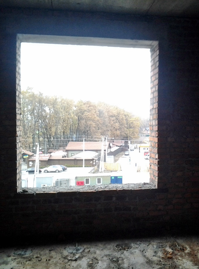 ЖК «Одесский Квартал» в Крюковщине окна
