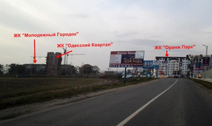 ЖК «Одесский Квартал» в Крюковщине соседи