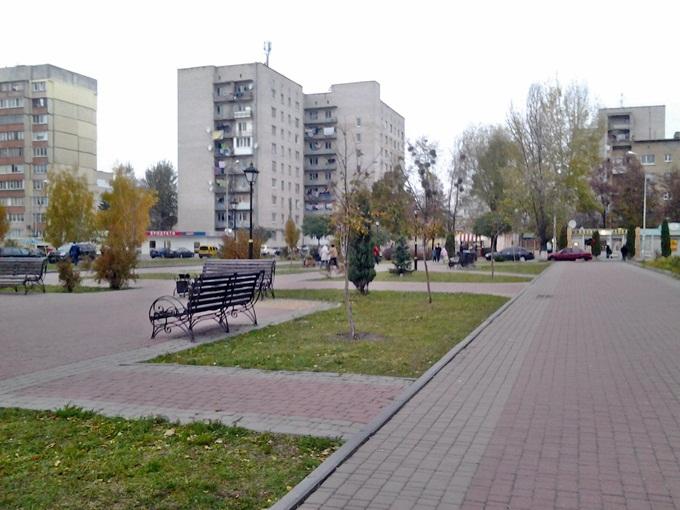 ЖК «Вишнева оселя» в Крюковщине магазины