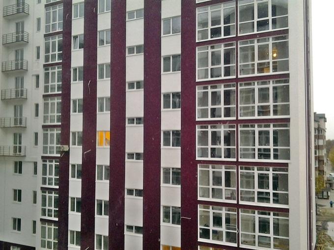 ЖК «Вишнева оселя» в Крюковщине вид из окон