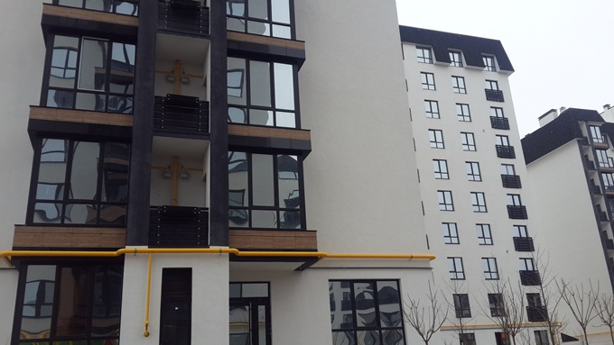 Год спустя: ЖК «Уютный квартал» балконы