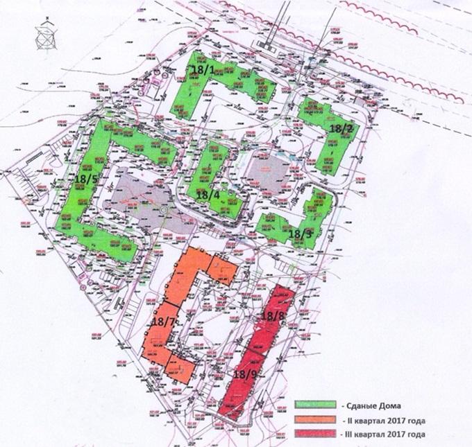 Год спустя: ЖК «Уютный квартал» генеральный план