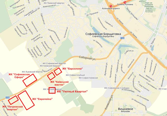 Год спустя: ЖК «Уютный квартал» на карте