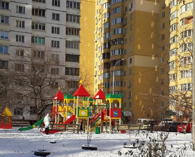ЖК «Автограф» детская площадка