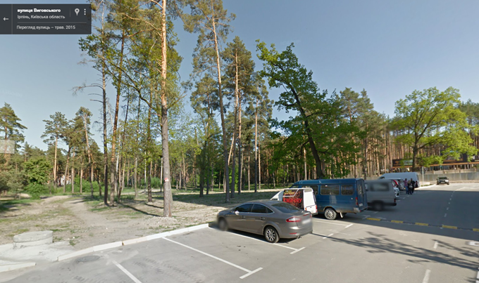 ЖК «Чехов Парк Квартал» в Ирпене строят на месте деревьев