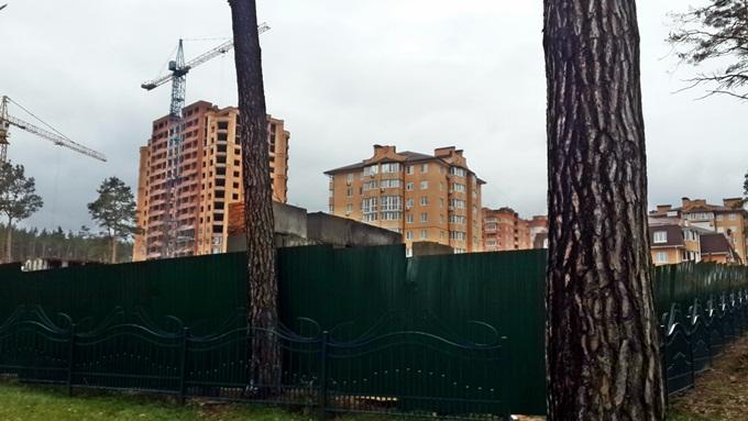 ЖК «Чехов Парк Квартал» в Ирпене стройка возле парка