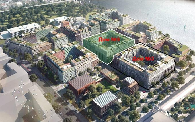 ЖК Рыбальский первый квартал нового района