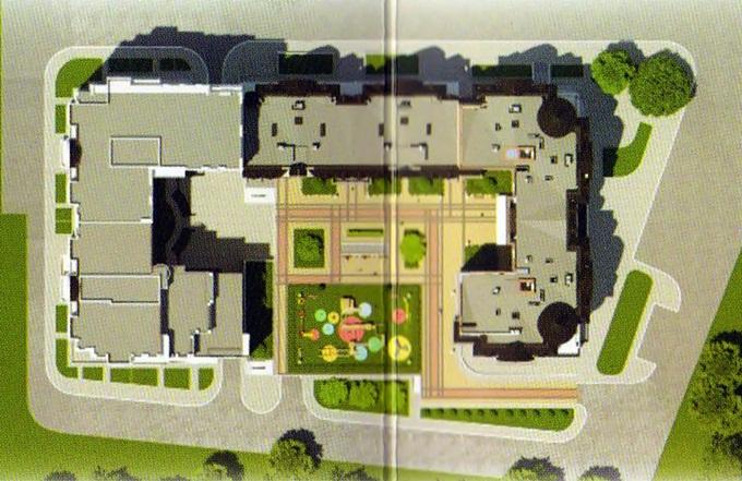 ЖК Шервуд Парк в Ирпене генеральный план