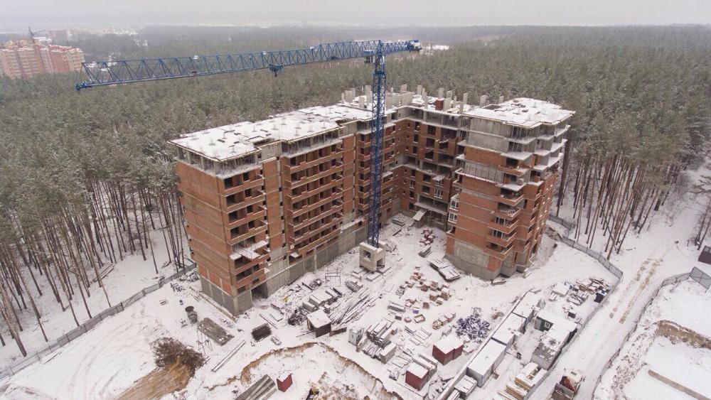 ЖК Шервуд Парк в Ирпене ход строительства