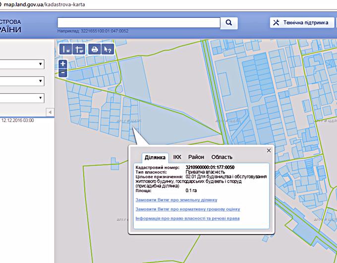 ЖК Шервуд Парк в Ирпене кадастровая карта