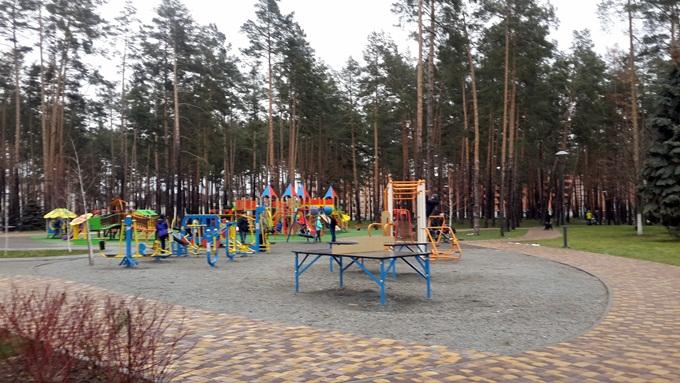 ЖК Шервуд Парк в Ирпене парк рядом