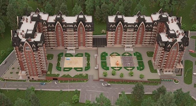 ЖК Шервуд Парк в Ирпене старый план