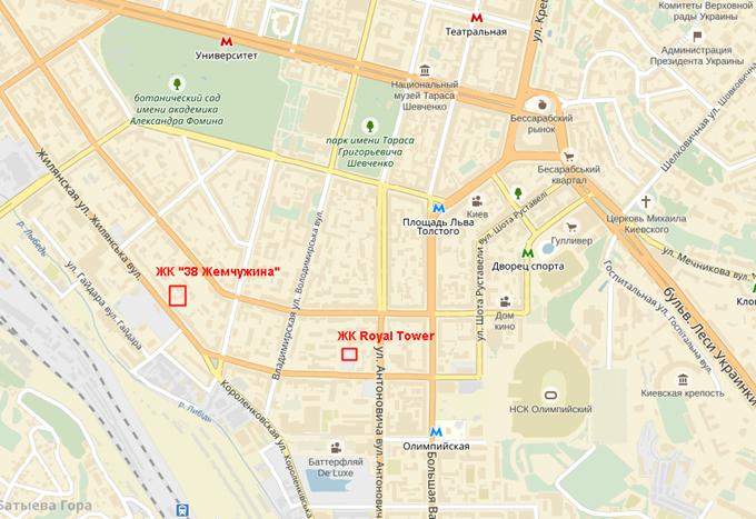 ЖК «Тридцать восьмая жемчужина» на карте