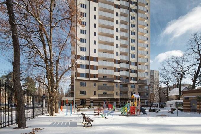 Год спустя: ЖК «Святобор» придомовая территория благоустроена