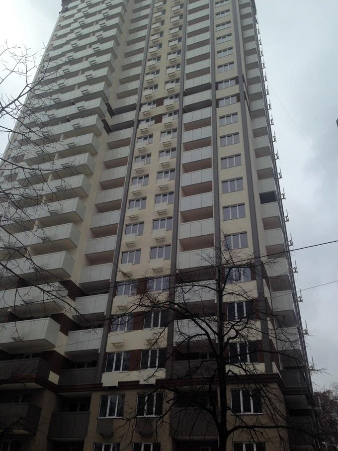 Год спустя: ЖК «Святобор» балконы фасад