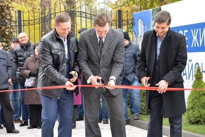 Год спустя: ЖК «Святобор» открытие комплекса