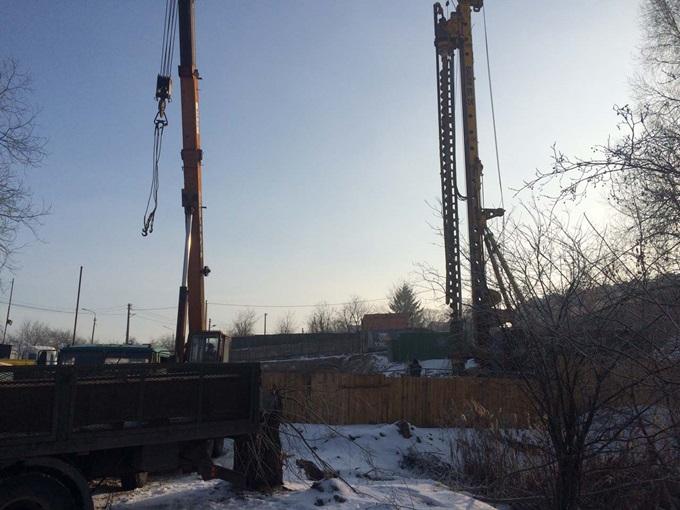 ЖК ЕвроСкай на Крутогорной ход строительства