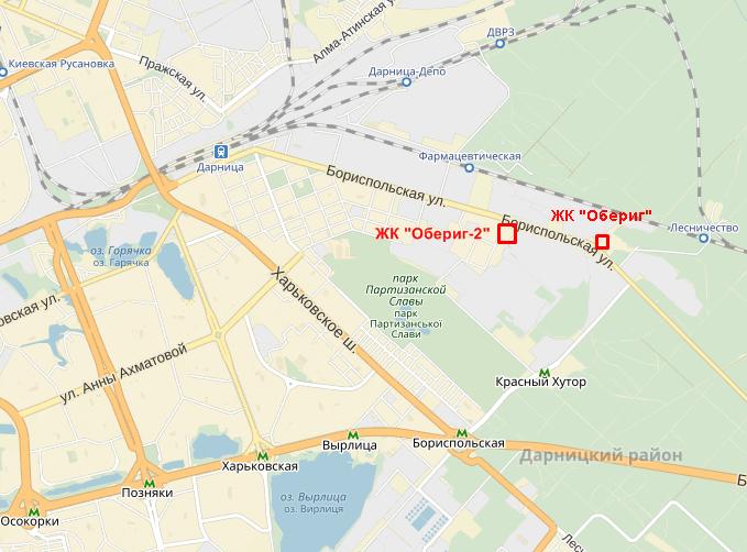 ЖК Оберег 2 на карте