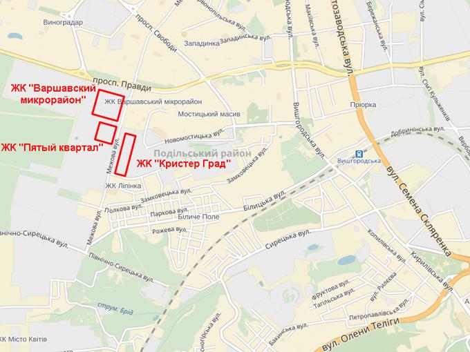 ЖК Пятый квартал (ЖК 5 квартал) на карте