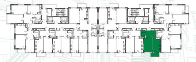 ЖК Пятый квартал (ЖК 5 квартал) поэтажный план второго дома