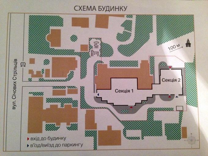 ЖК «А52» на Артема генеральный план