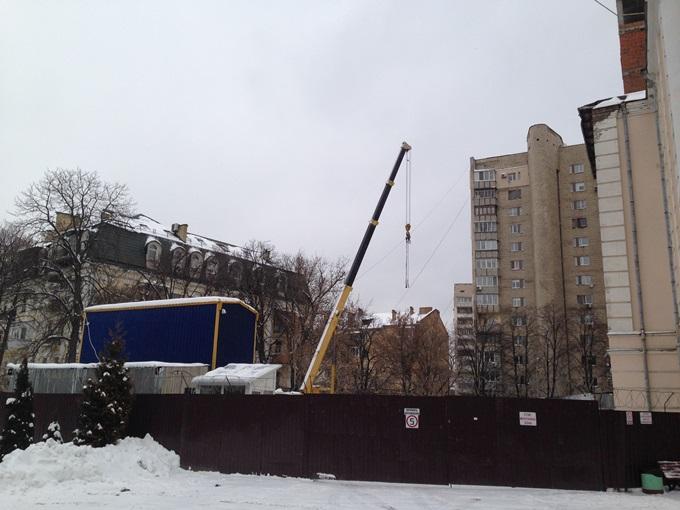 ЖК «А52» на Артема ход строительства второй секции